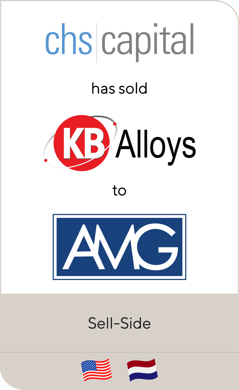 CHS Capital has sold KB Alloys to AMG Advanced ...