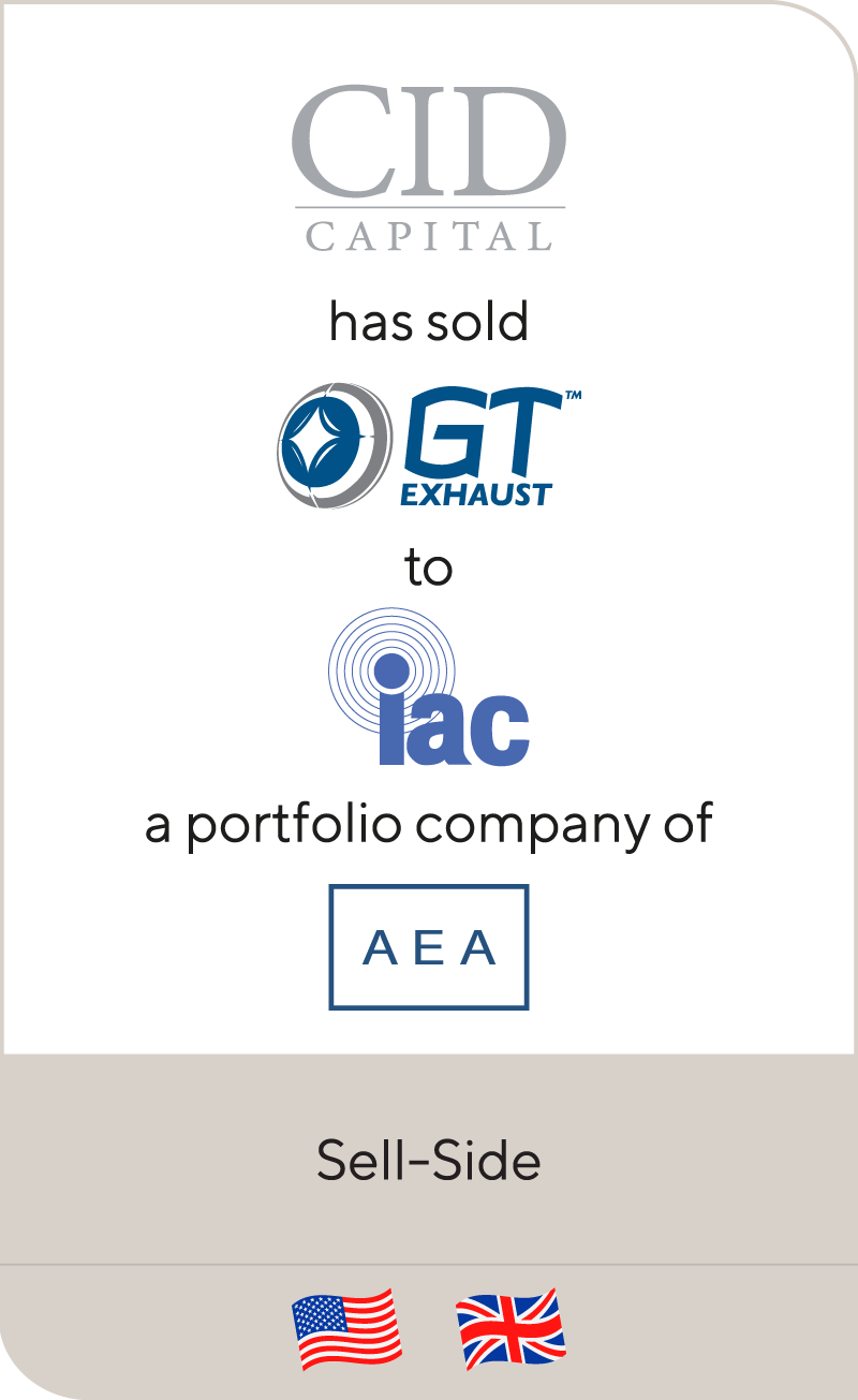 CID Capital GT Exhaust IAC AEA 2012