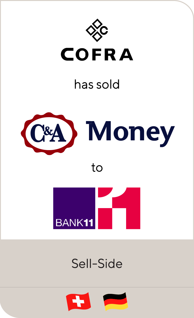 COFRA Holding has sold C&A Bank to Bank11