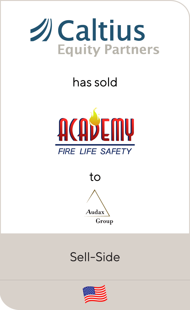 Caltius Equity Partners has sold Academy Fire Life Safety to Audax Private Equity