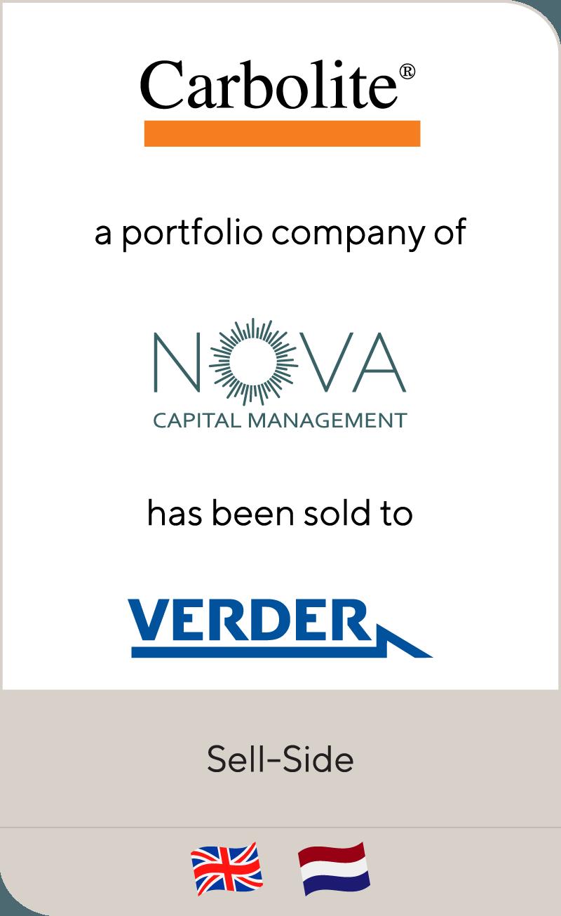 Carbolite Nova Capital Verder 2012