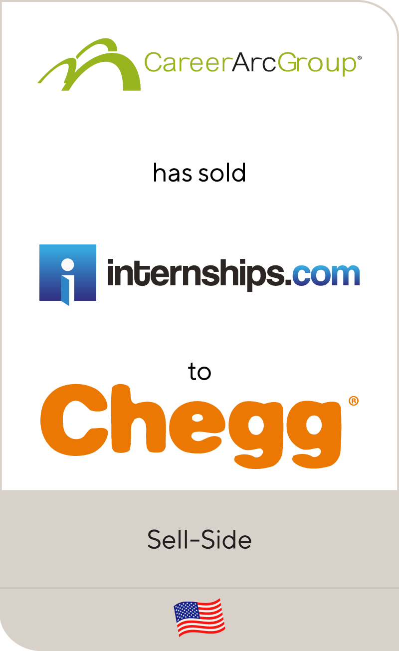 CareerArc Group has sold Internships com to Chegg | Lincoln