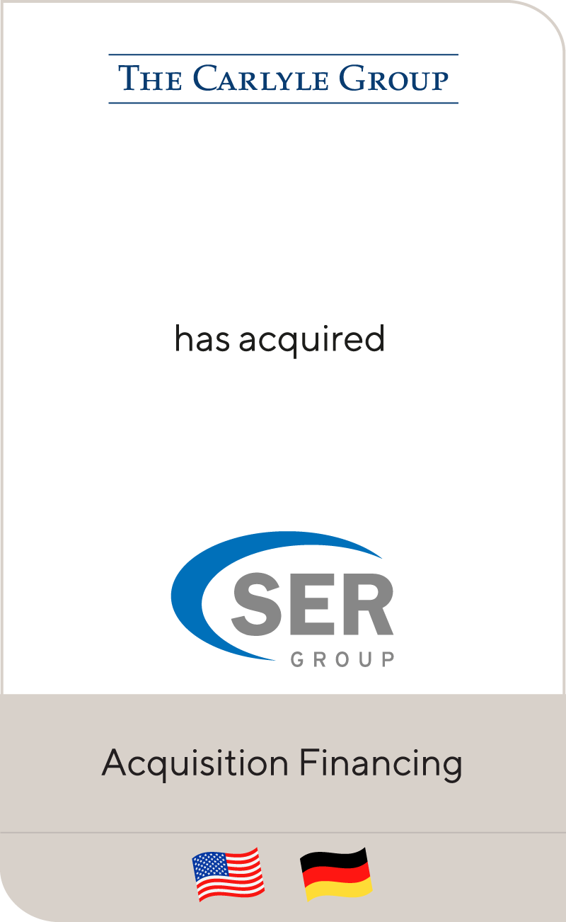 Carlyle has acquired a majority stake in SER Group