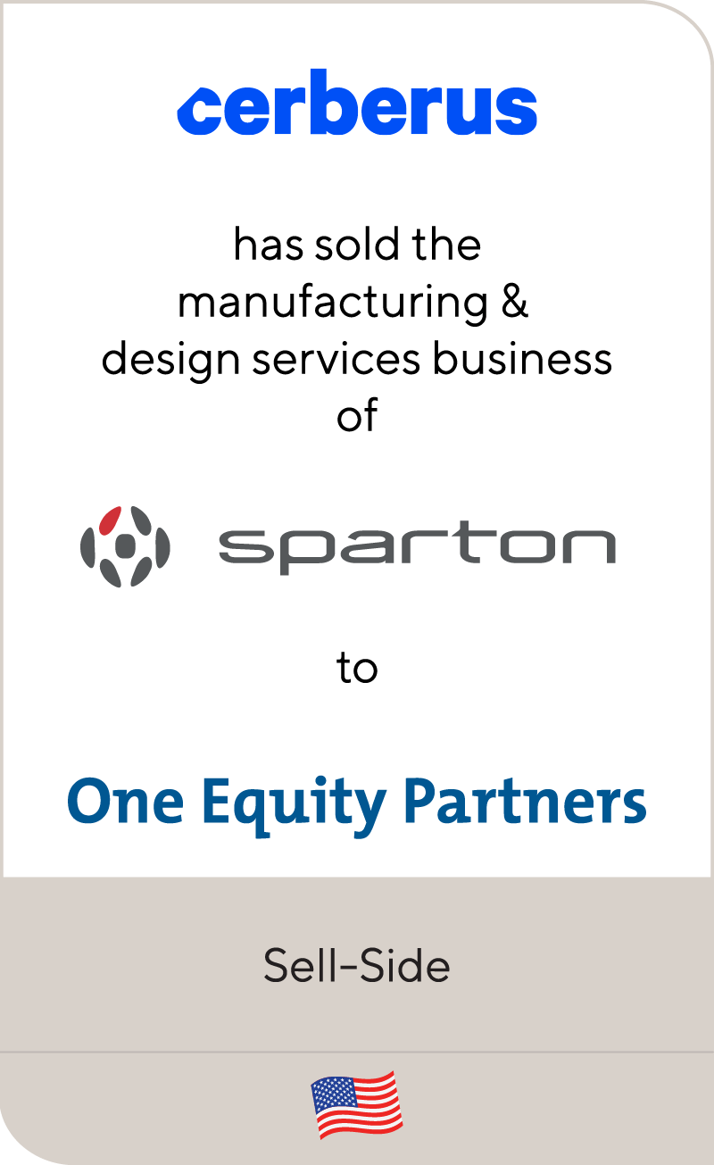 Cerberus Sparton One Equity Partners 2020