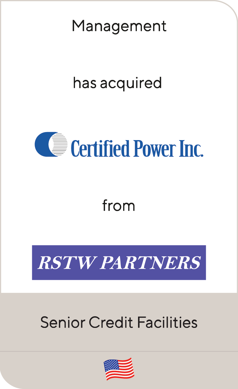 Certified Power RSTW Partners LP 2007