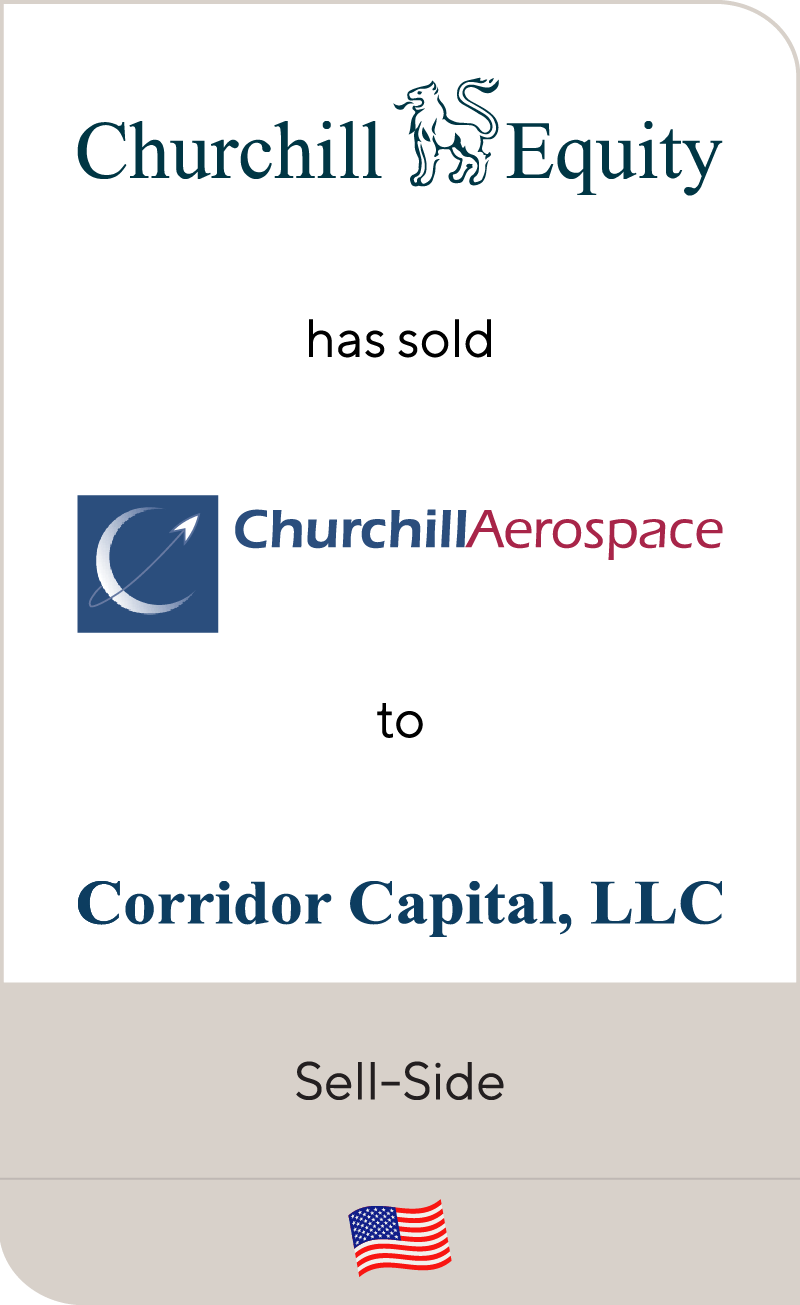 Churchill Equity has sold Churchill Aerospace to Corridor Capital