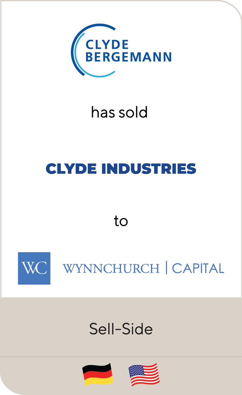 Clyde Bergemann Power Group Wynnchurch Capital 2019