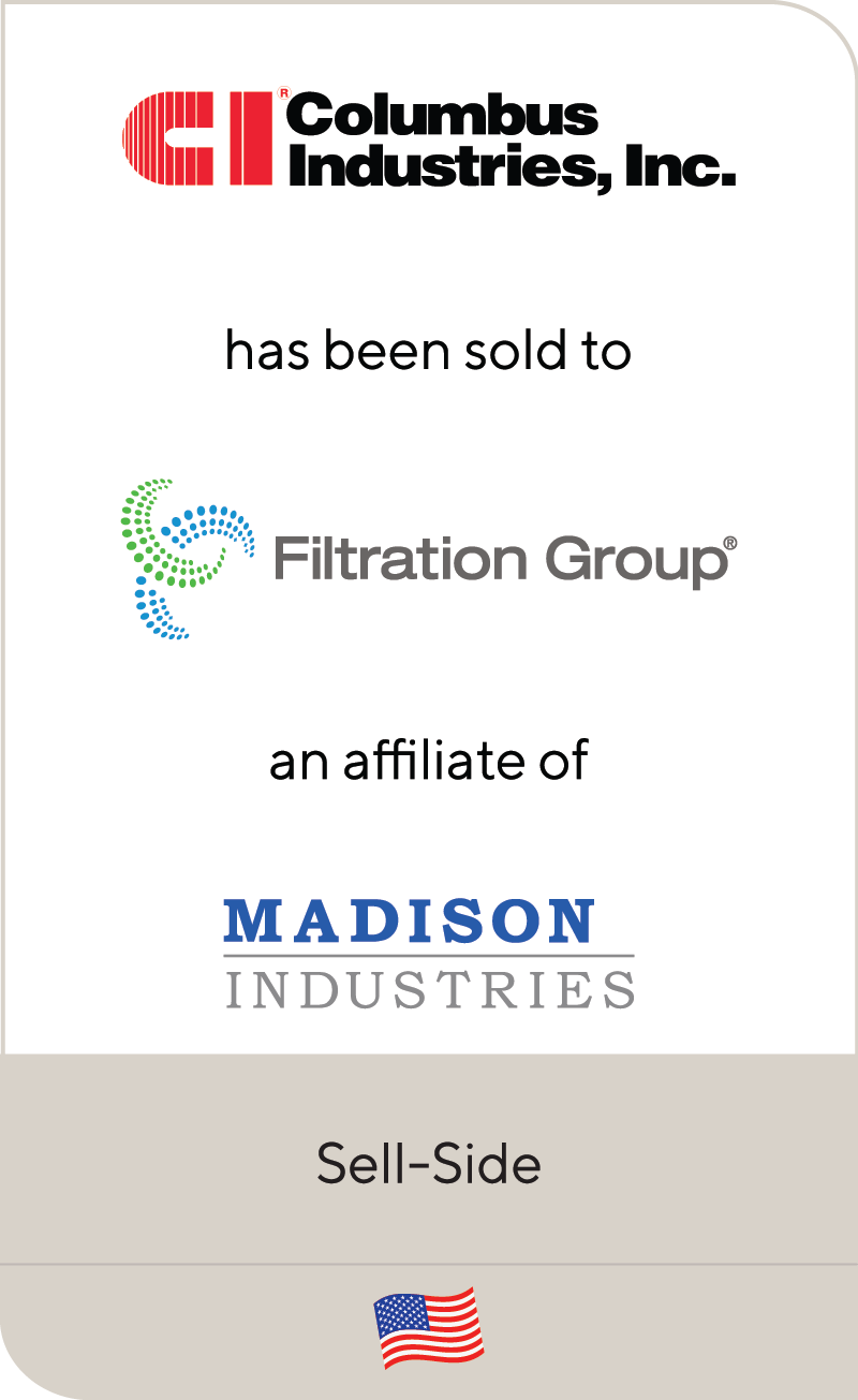 Columbus Industries Filtration Group Madison Industries 2021