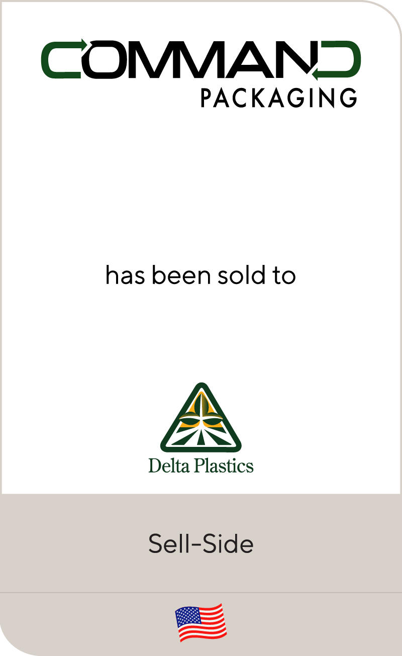 Command Packaging has been sold to Delta Plastics of the South