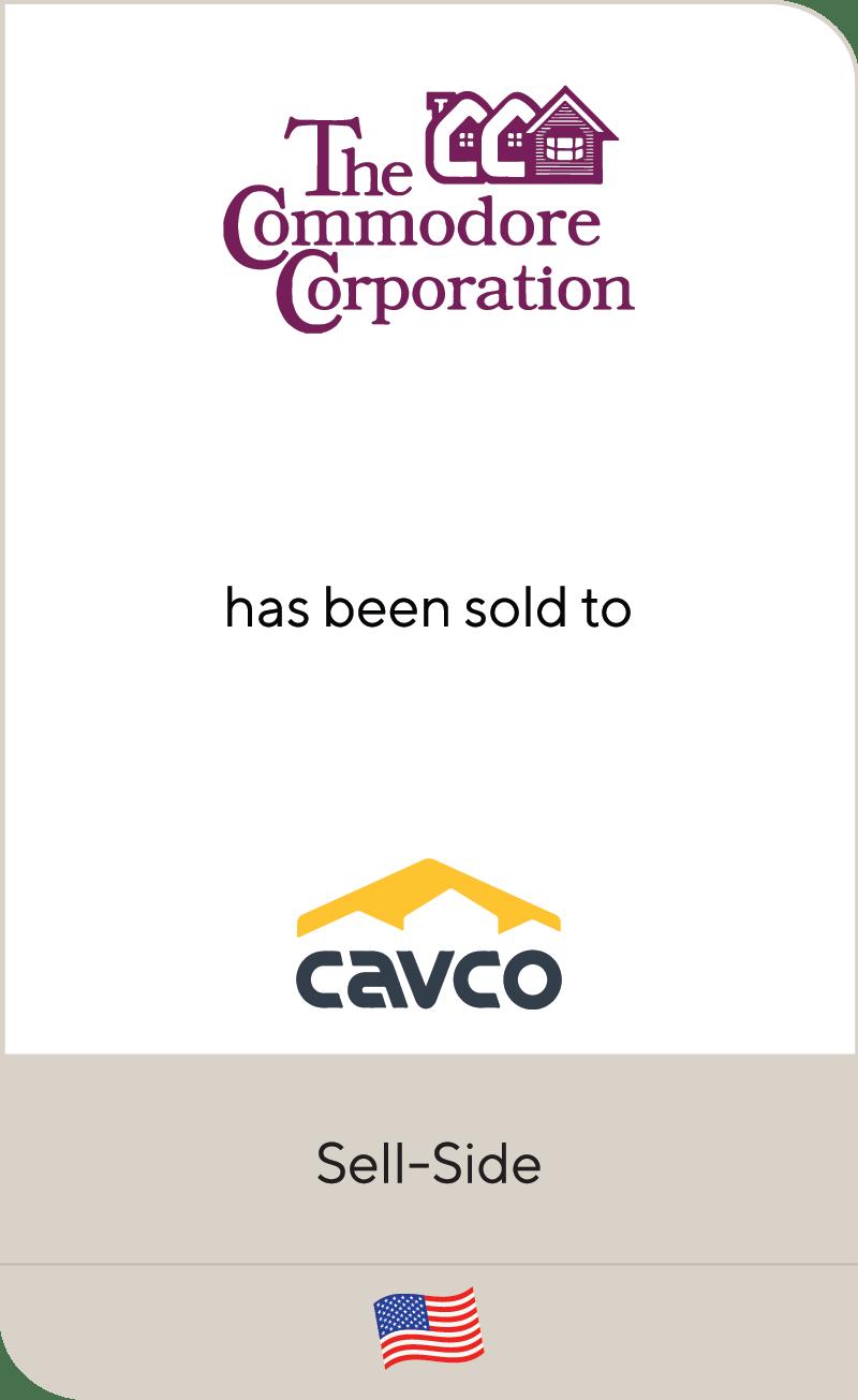 Commodore Homes Cavco 2021