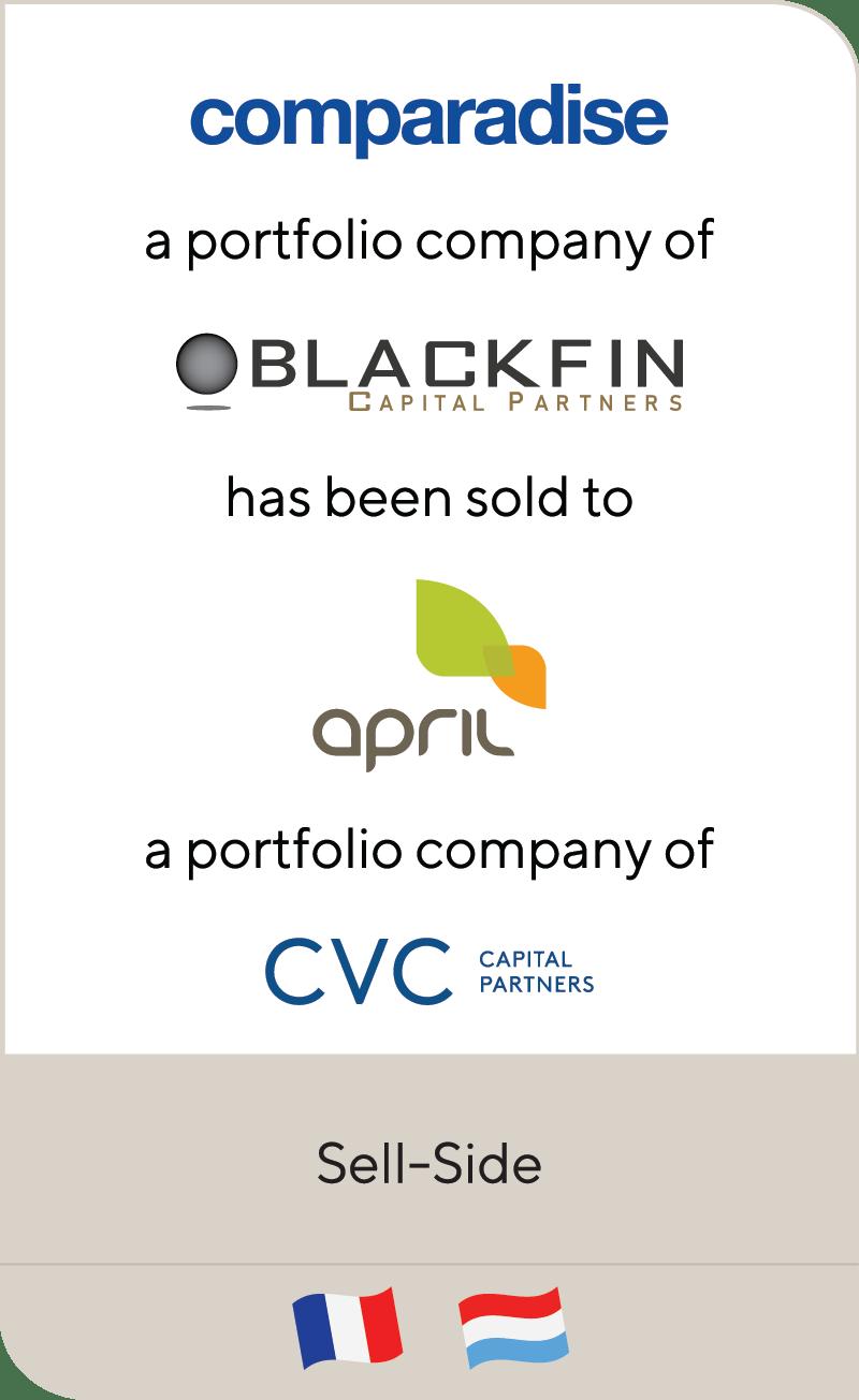 Comparadise BlackFin April CVC 2020
