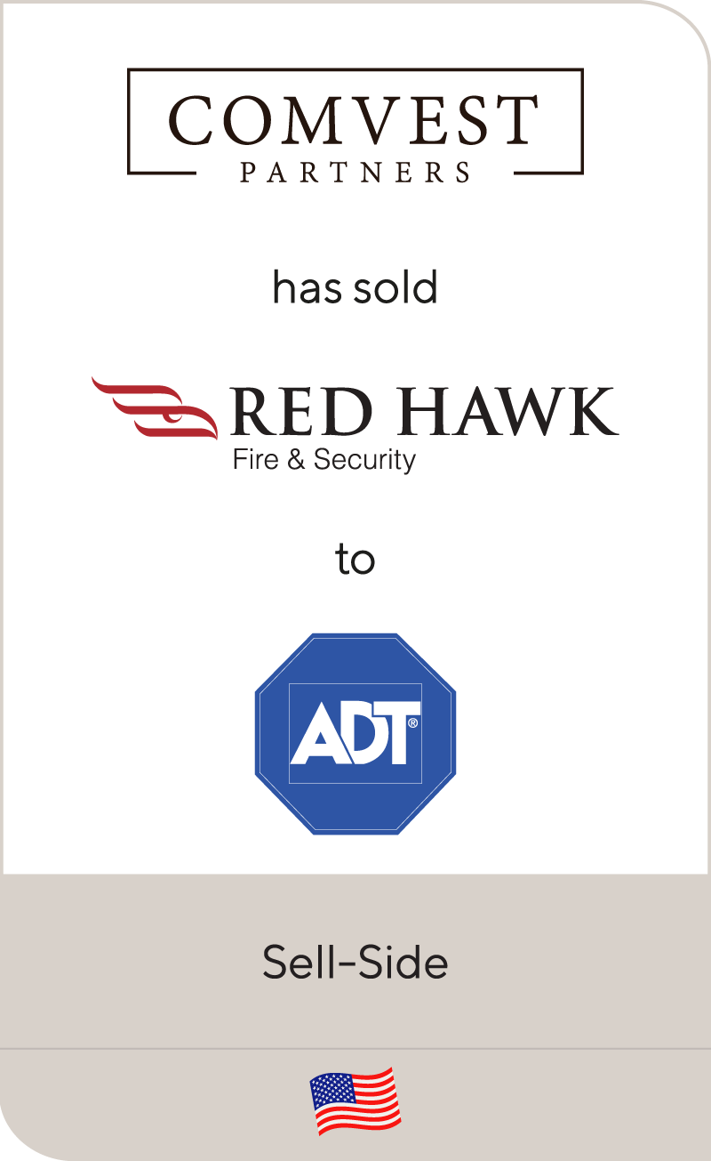 Comvest Partners has sold Red Hawk Fire & Security to ADT