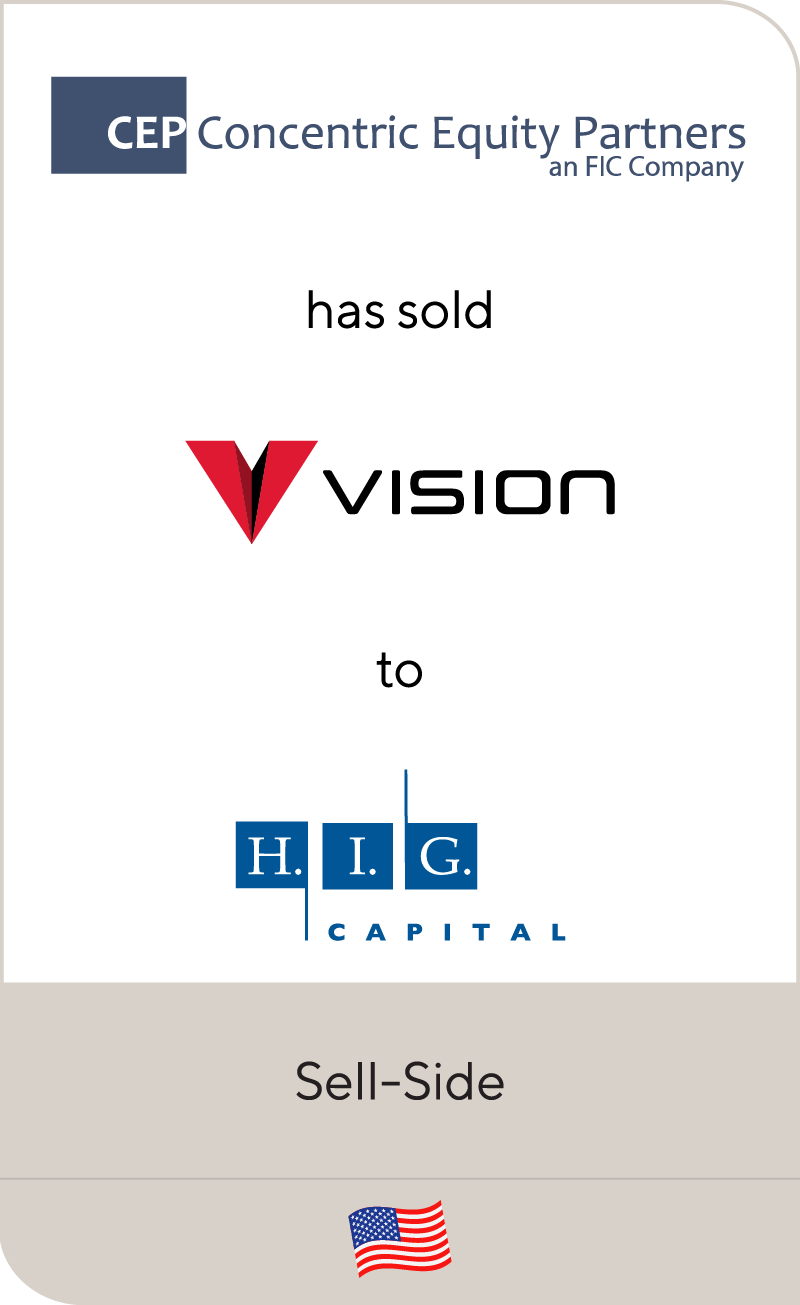 Vision Integrated Graphics Group has been sold to H.I.G. Capital