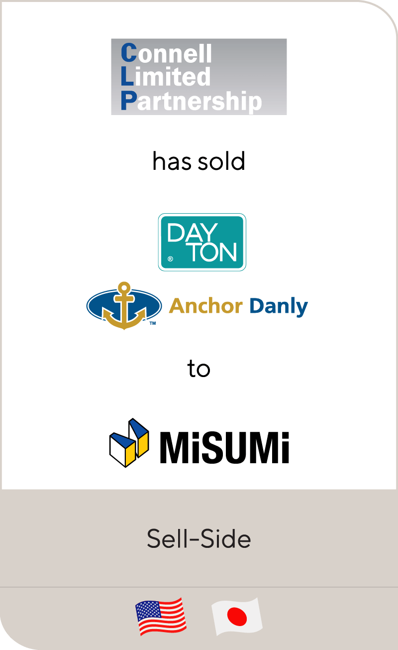 Connell Limited Dayton Anchor Danly MiSumi 2012