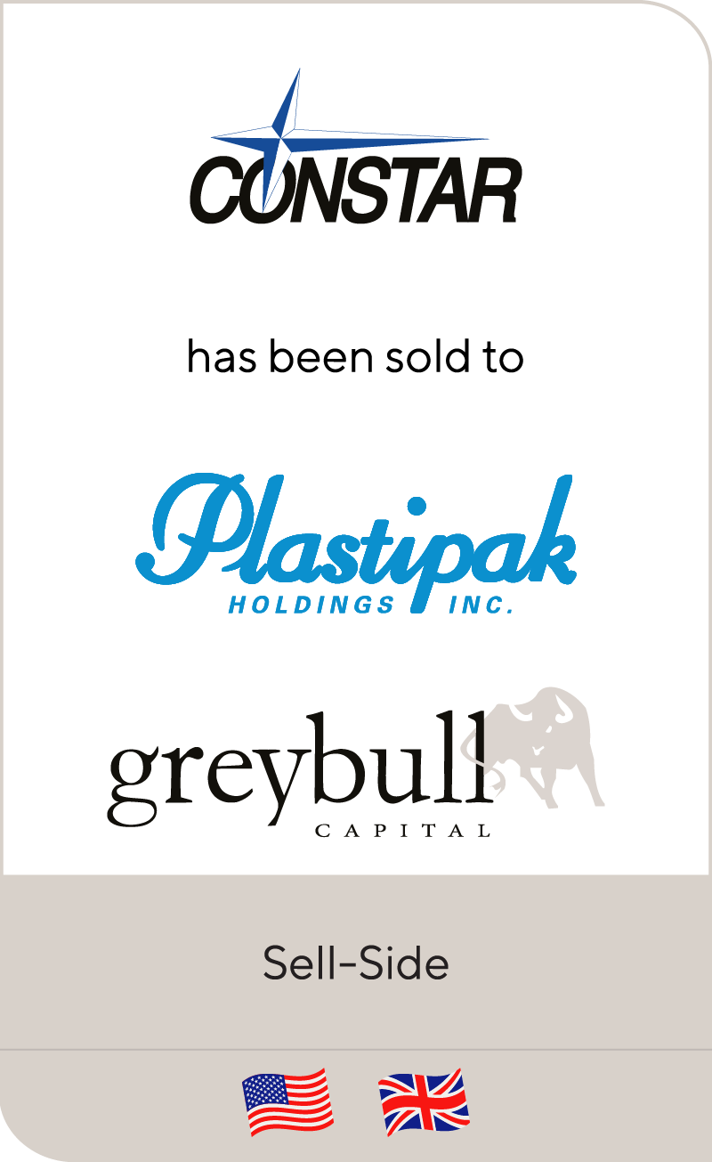 Constar has been sold to Plastipak Holdings and Greybull Capital