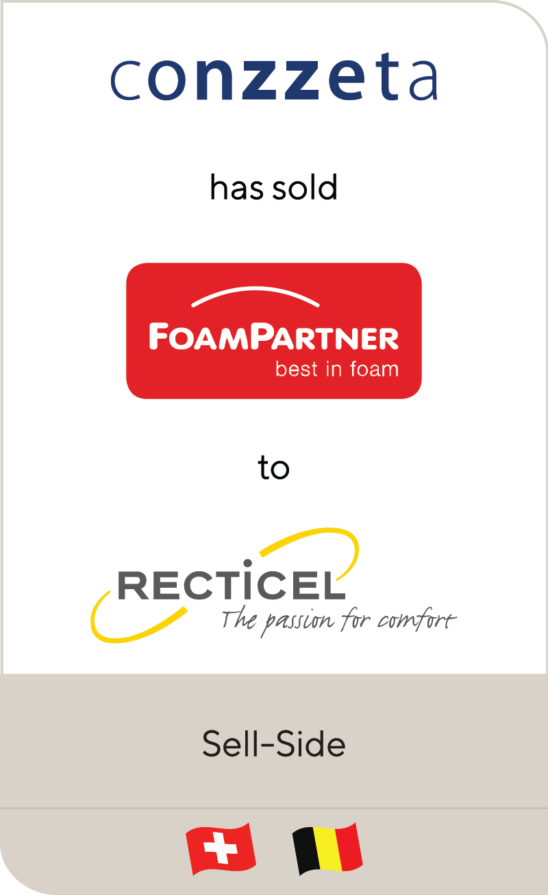 Conzzeta FoamPartner Recticel 2020