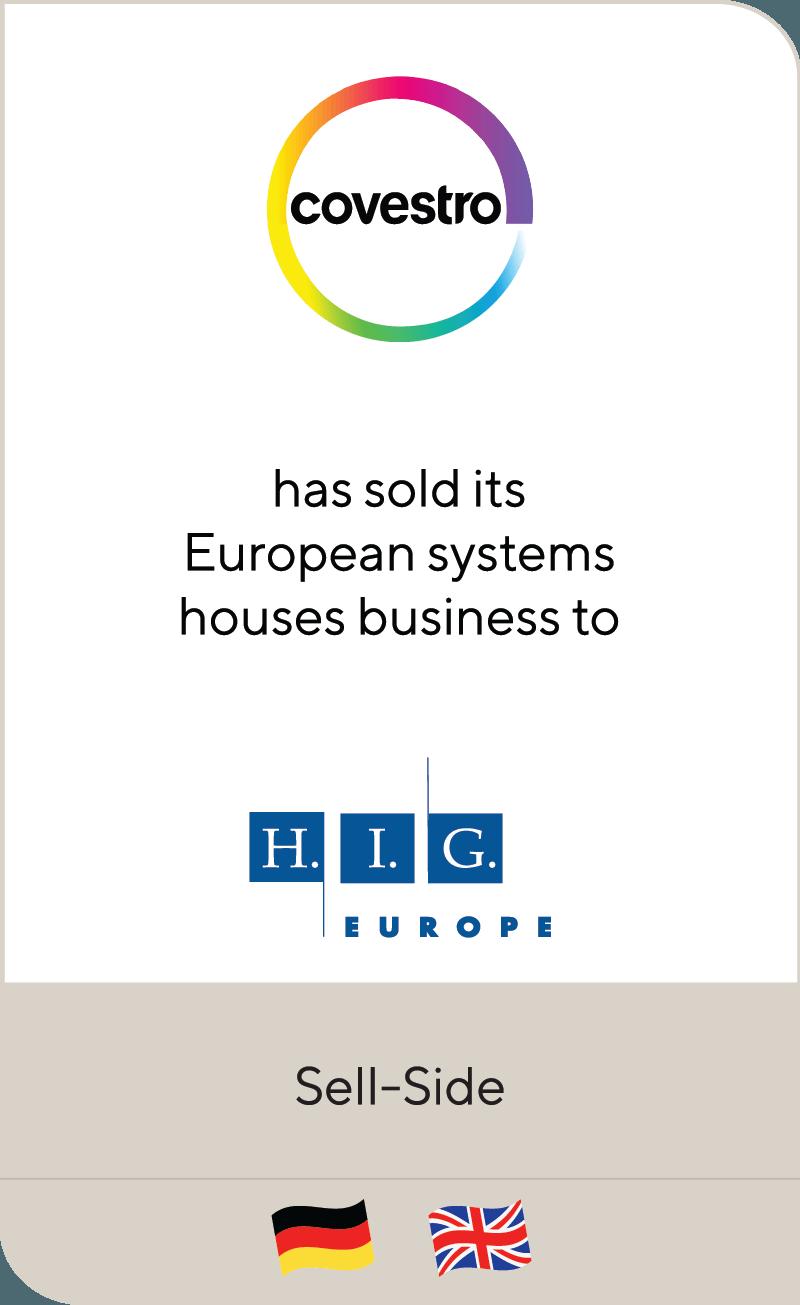 Covestro HIG Europe 2019