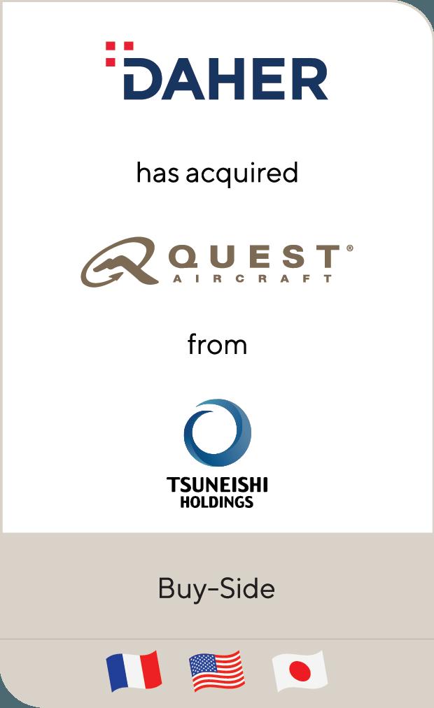 DAHER Quest Tsuneishi Holdings 2019