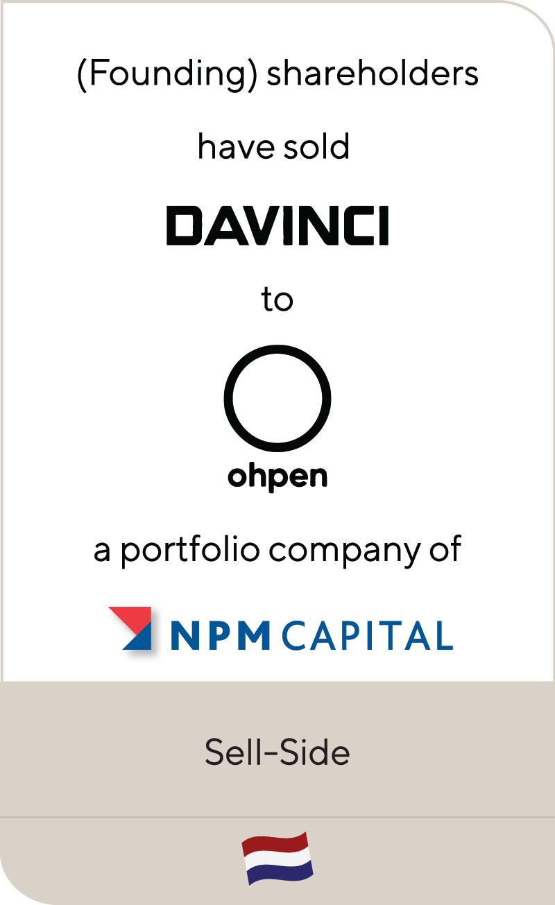 Davinci Ohpen NPM Capital 2020