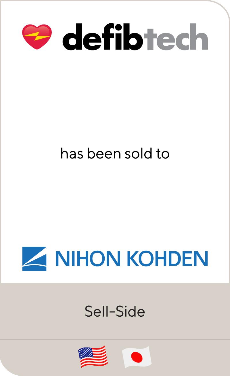 Defibtech Nihon Kohden 2012