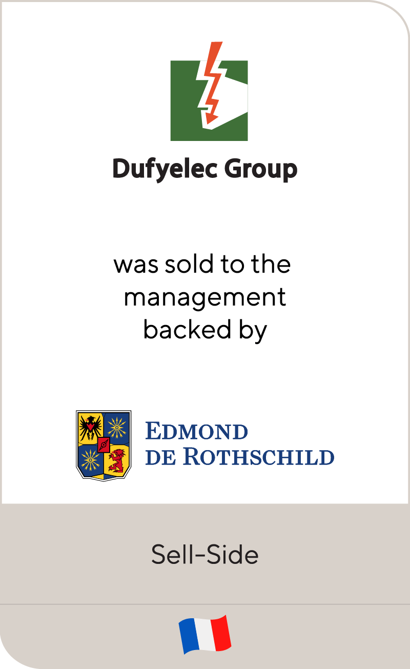 Dufyelec Group Edmond De Rothschild Naxicap 2013