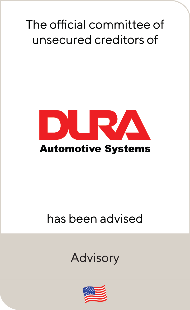 Dura Automotive Systems 2020