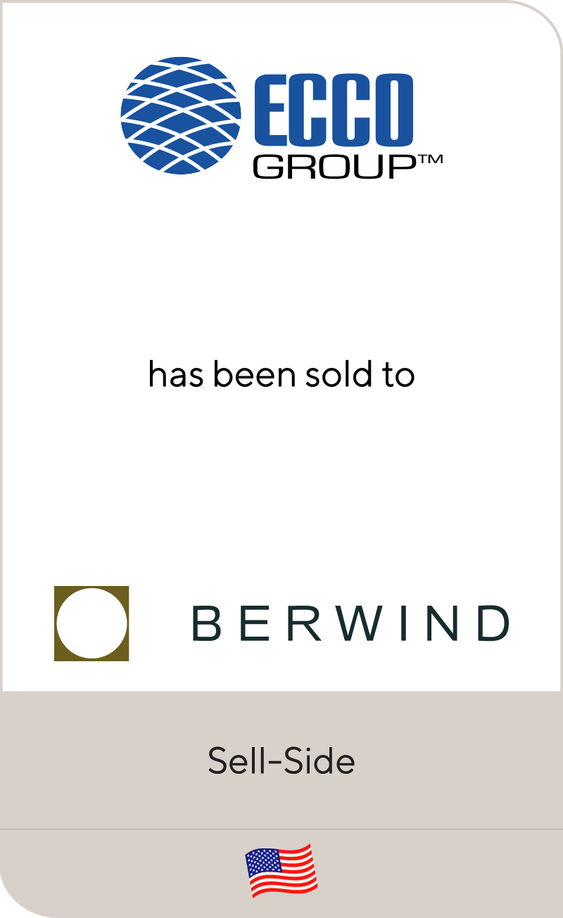 ECCO Group has been sold to Berwind