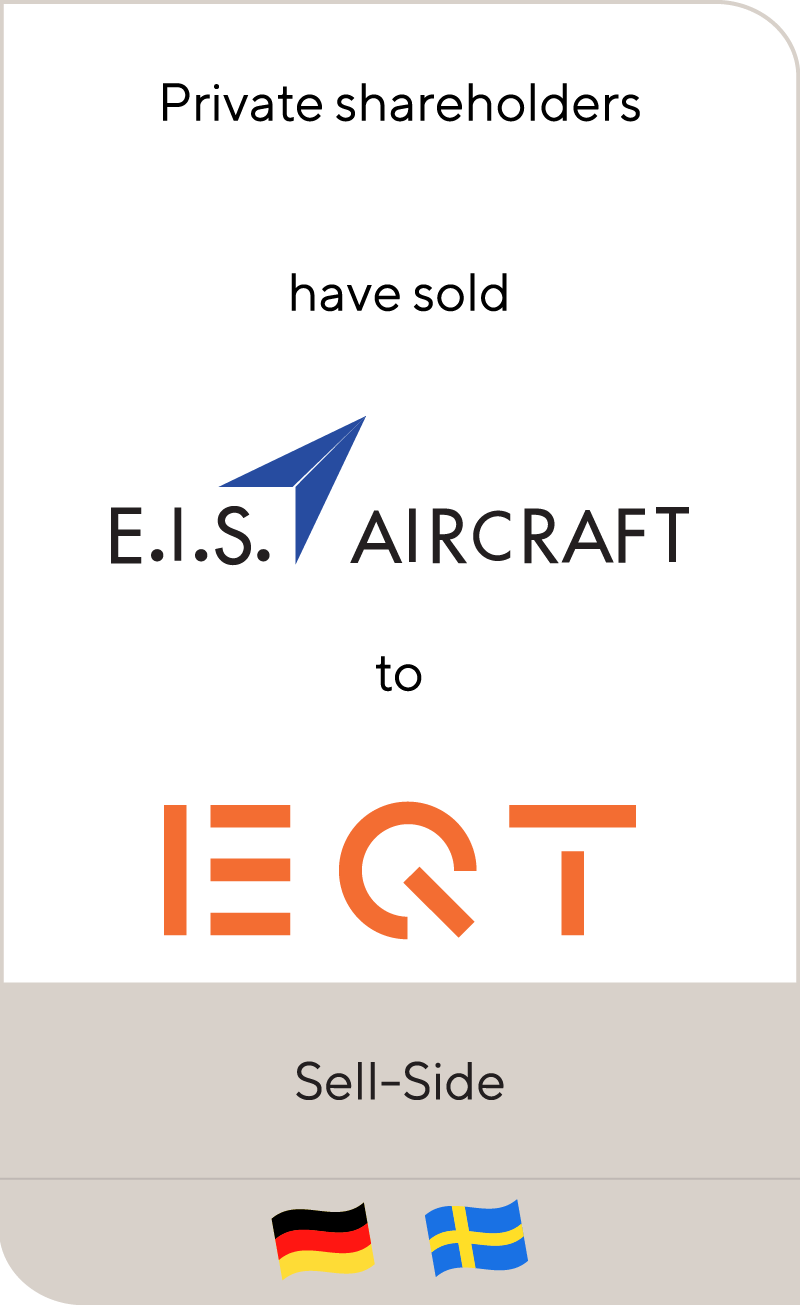 E.I.S. Holding has been acquired by EQT and the Management