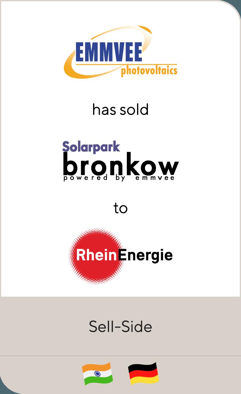 EMMVEE has sold Solarpark Bronkow to RheinEnergie