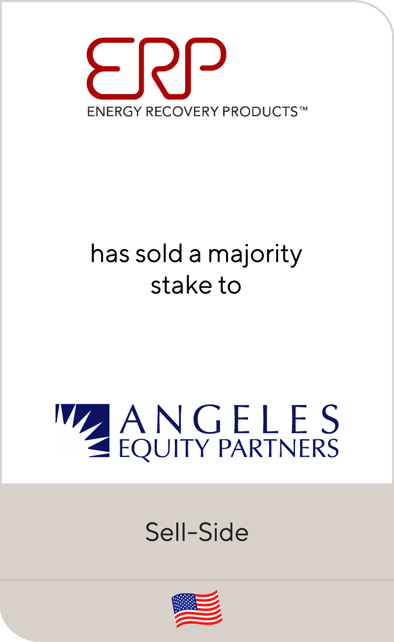 ERP Power has sold a majority stake to Angeles Equity Partners