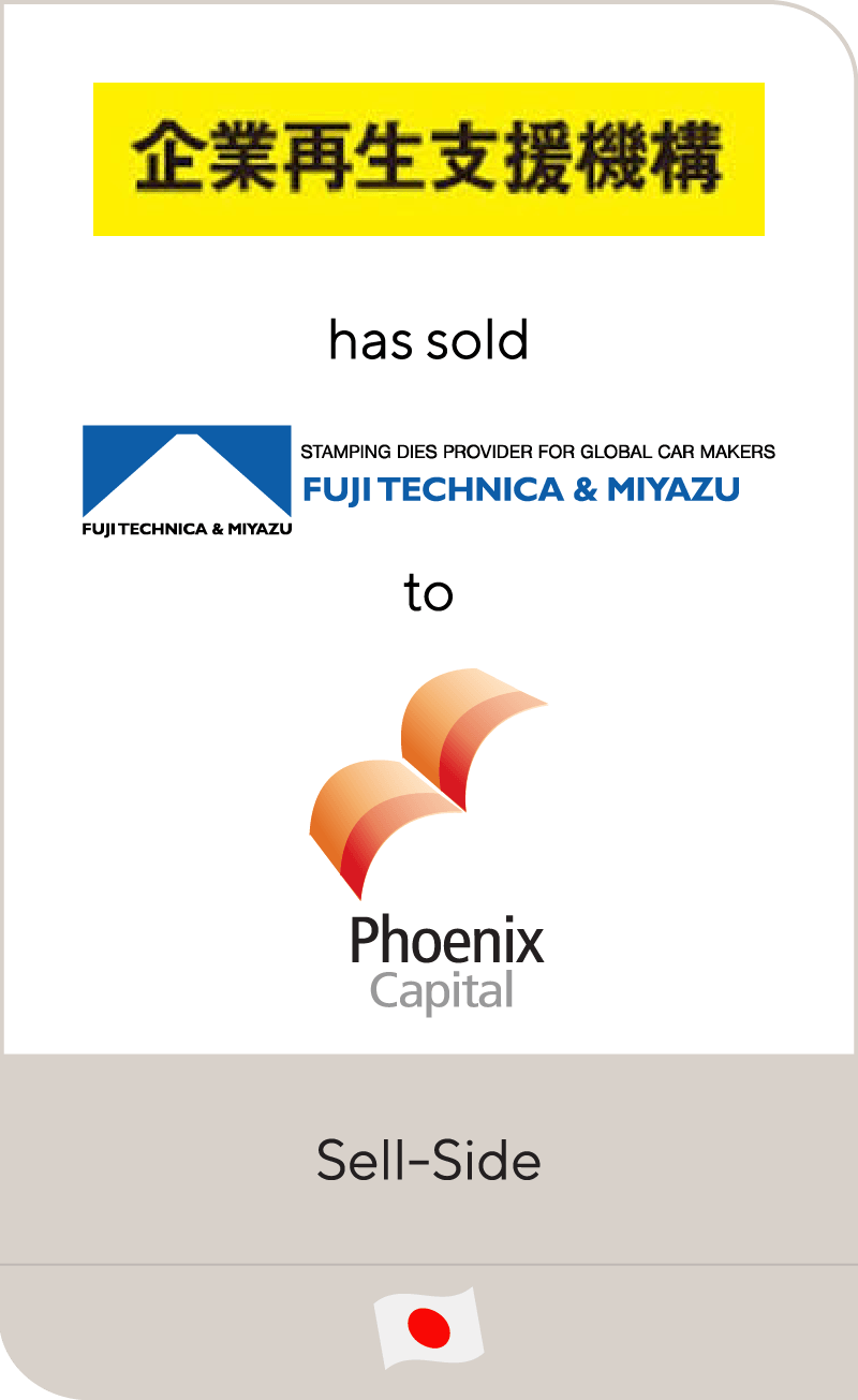 ETIC has sold Fuji Technica & Miyazu to Phoenix Capital