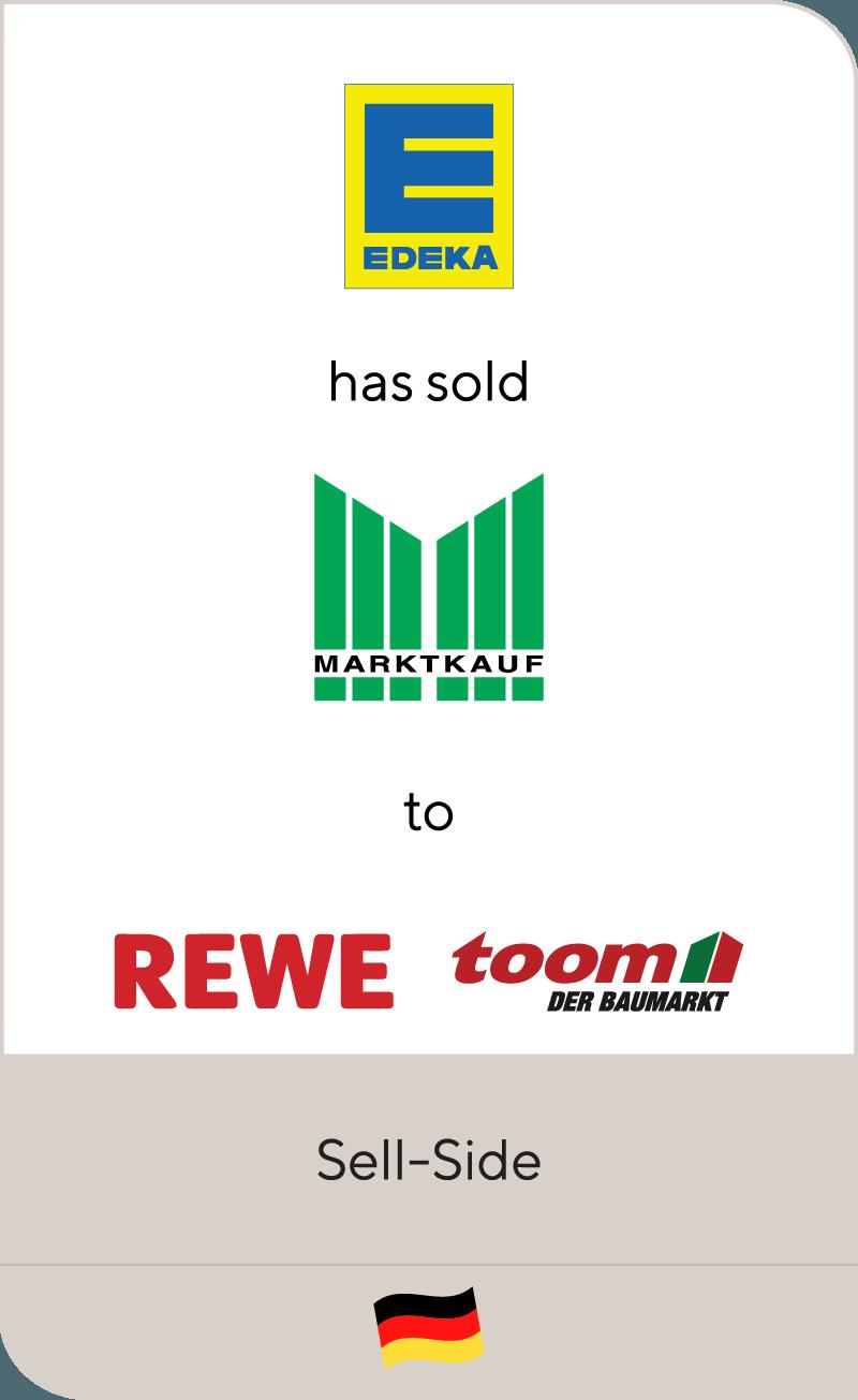 EDEKA / Marktkauf has sold Marktkauf Baumärkte to REWE Group