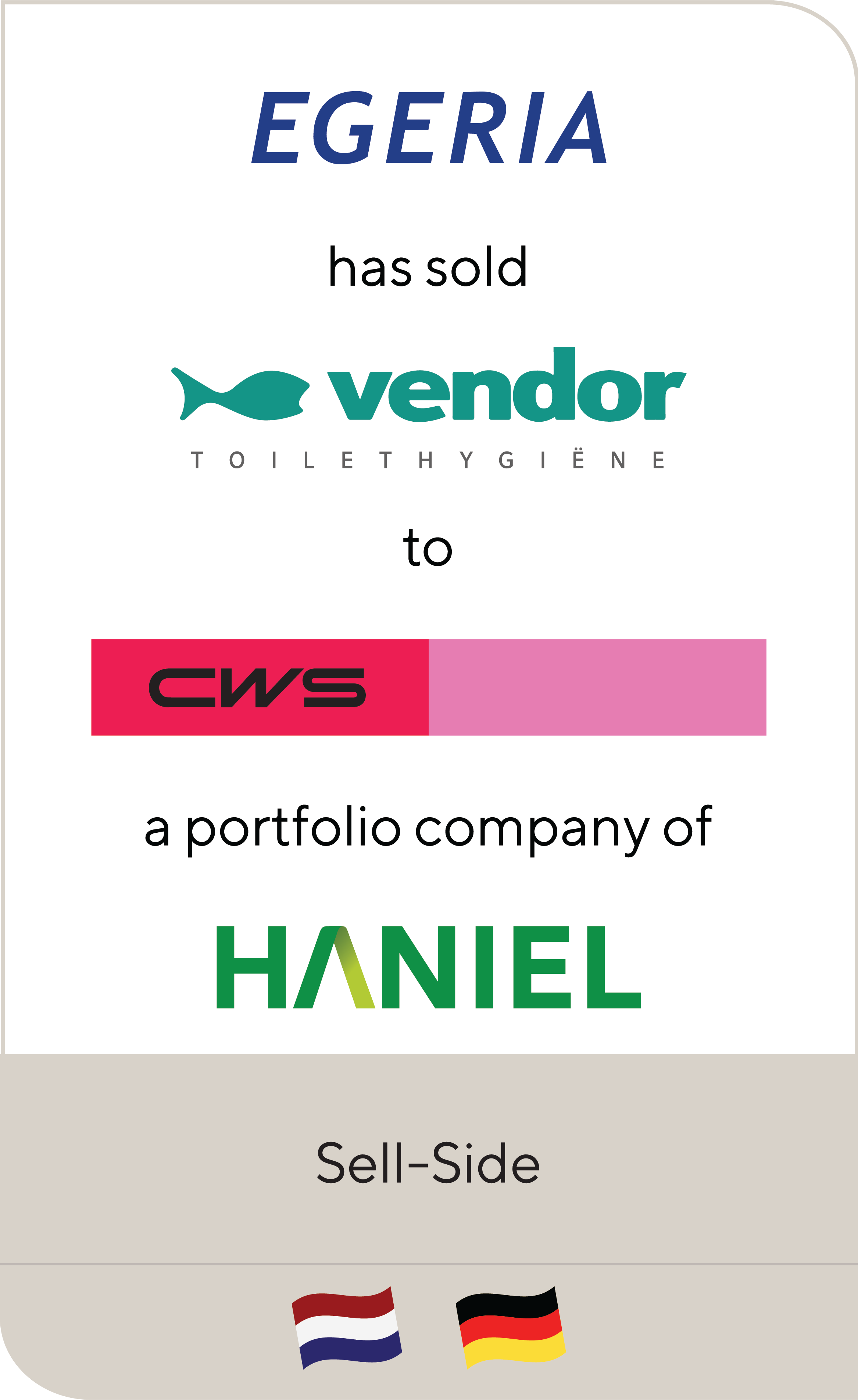 Egeria Vendor CWS Haniel 2019