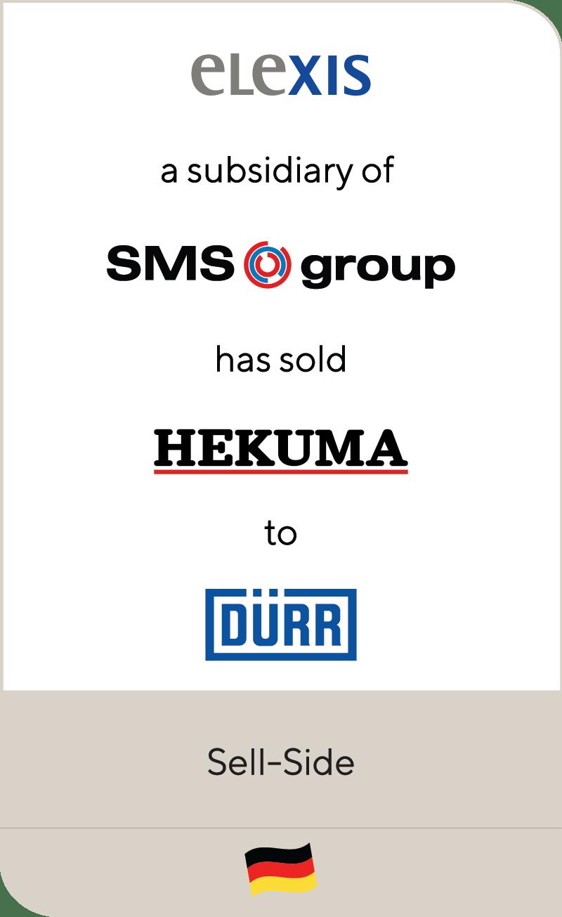 Elexis SMSgroup Hekuma Durr 2021