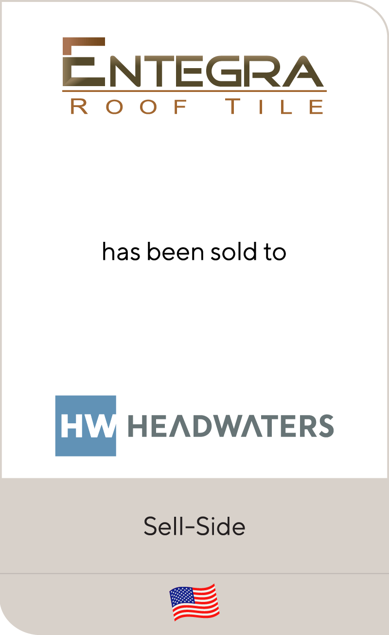 Entegra has been sold to Headwaters