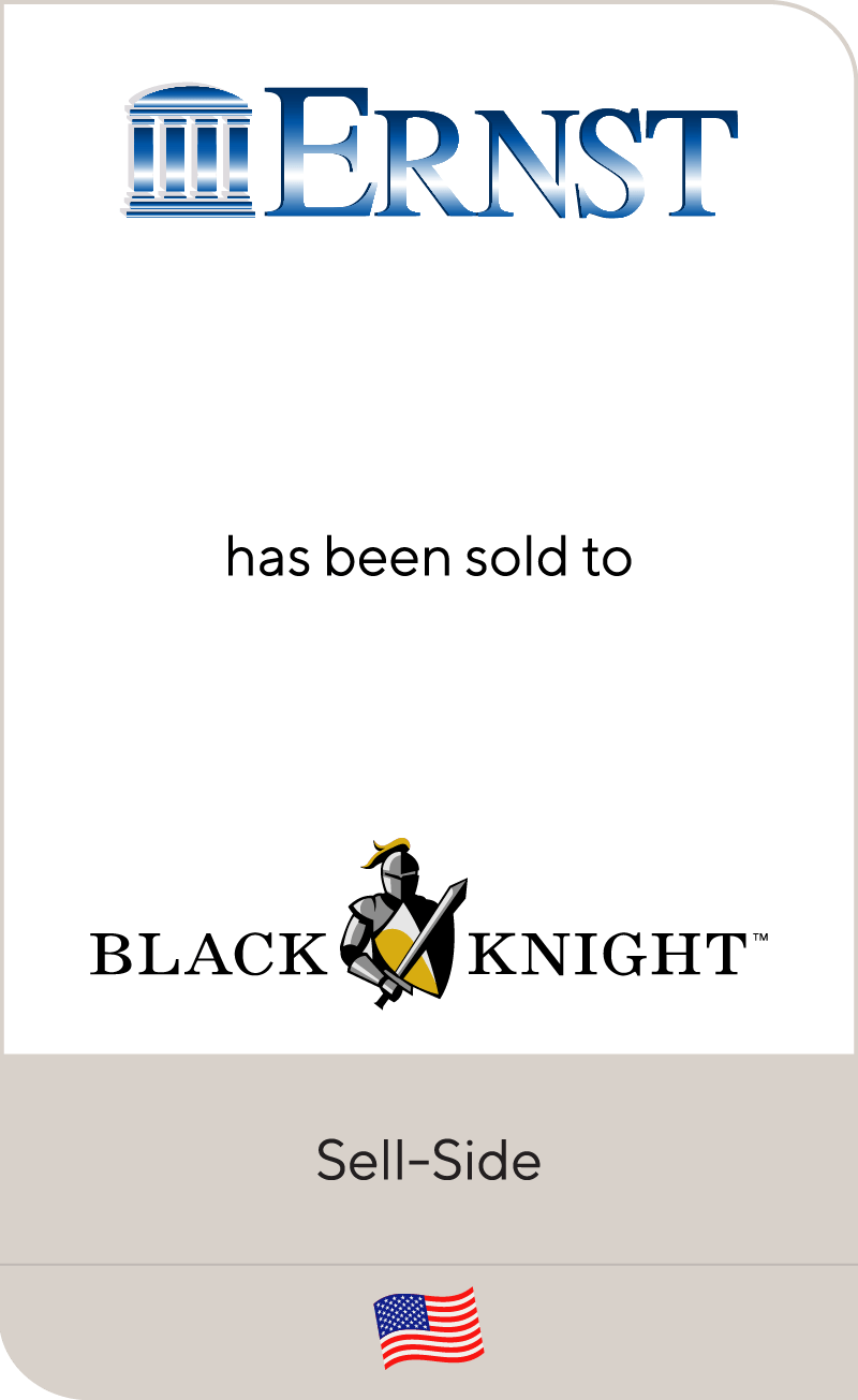 Ernst Publishing LLC has been sold to Black Knight, Inc.