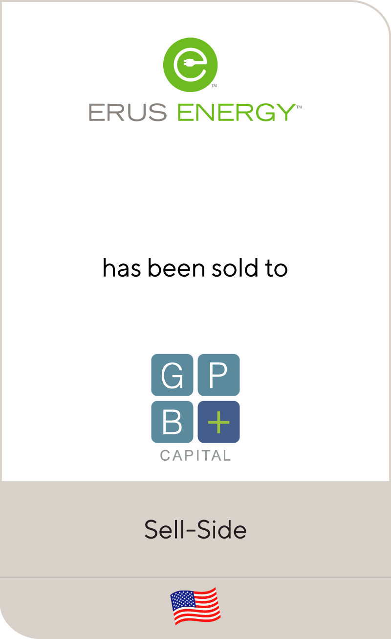Erus Energy has been sold to GPB Capital