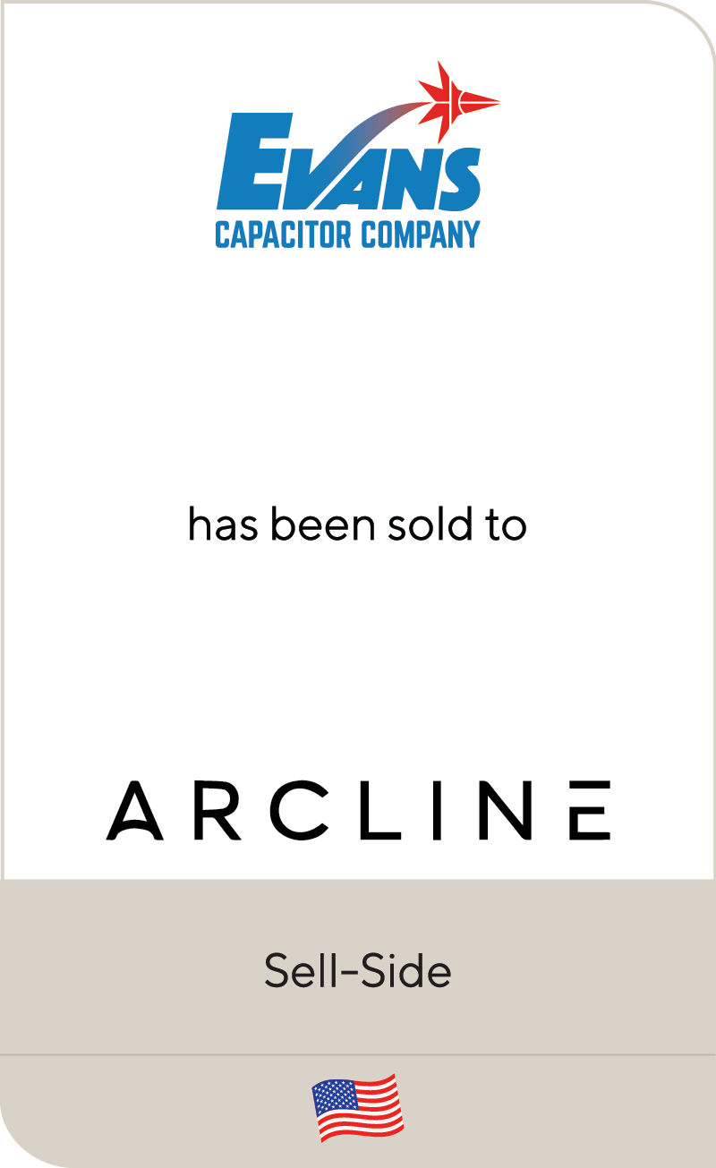 Evans Capacitor Arcline Investment 2020