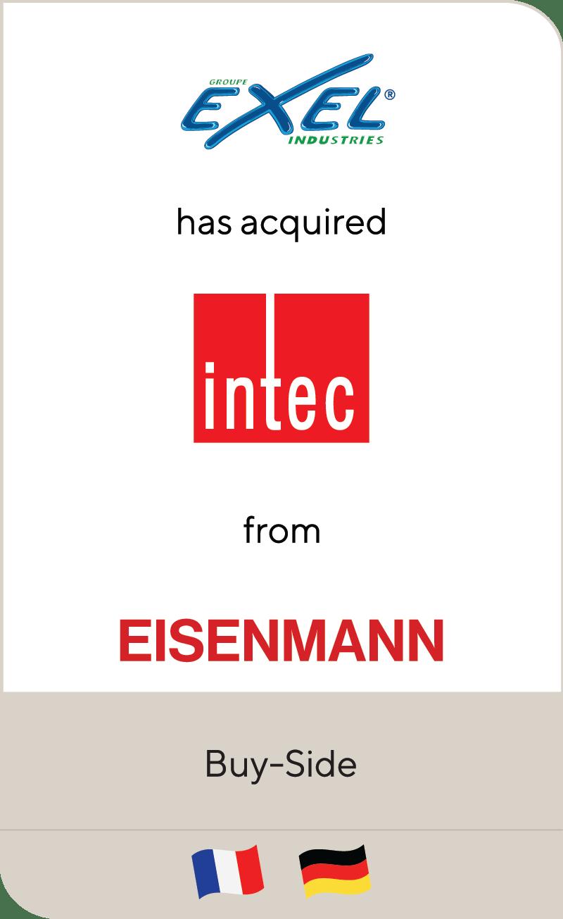 Exel Intec Eisenmann 2020