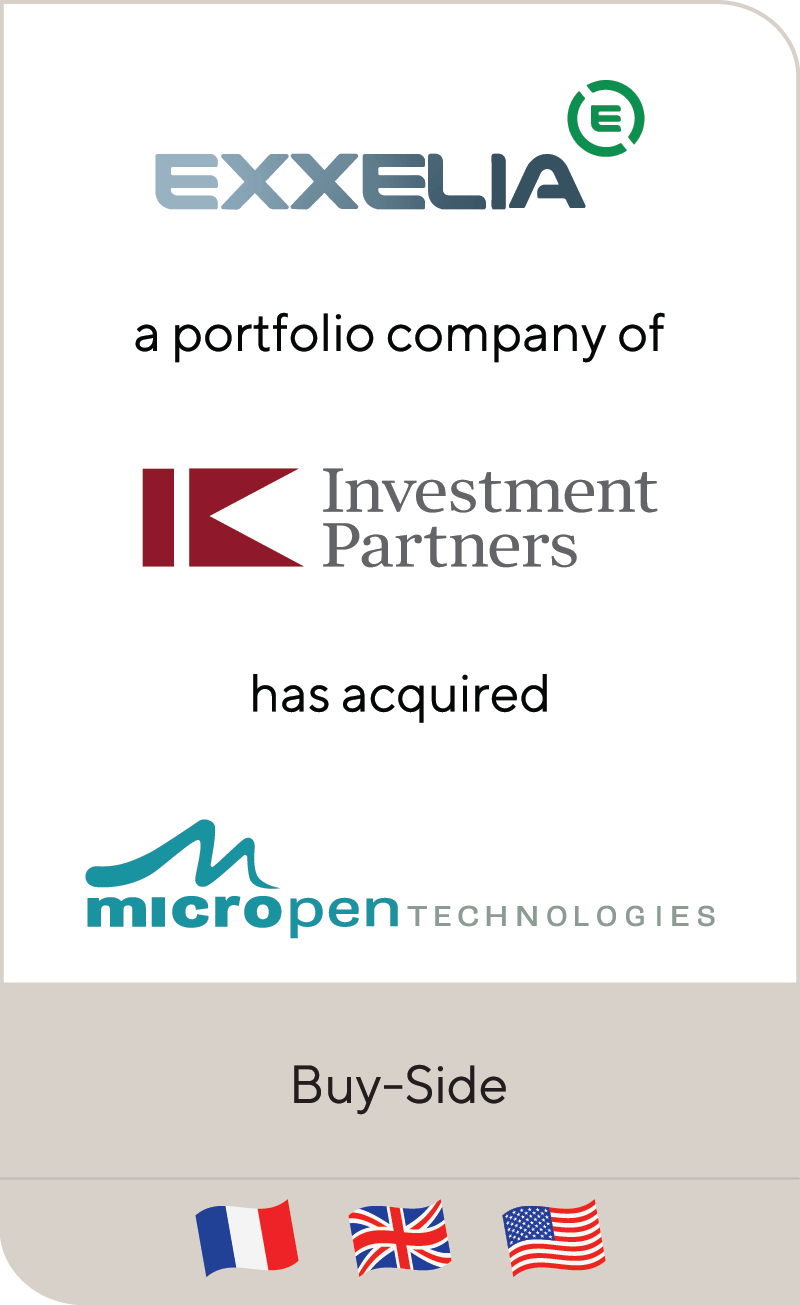 Exxelia IK Investment Partners Micropen 2019