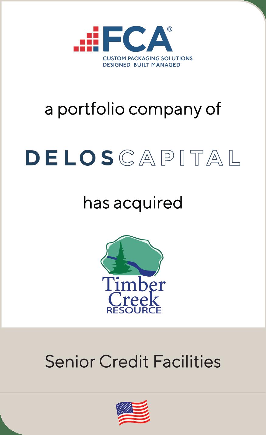 FCA Packaging Delos Capital Timber Creek 2021