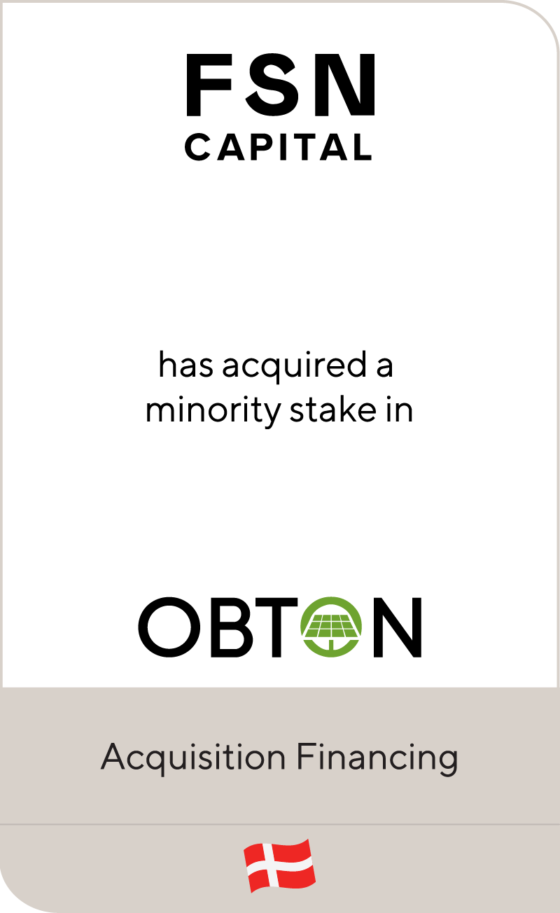 FSN Capital OBTON Group 2021
