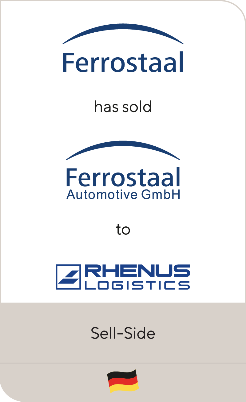 Ferrostaal Automotive has been sold to Rhenus SE & Co.