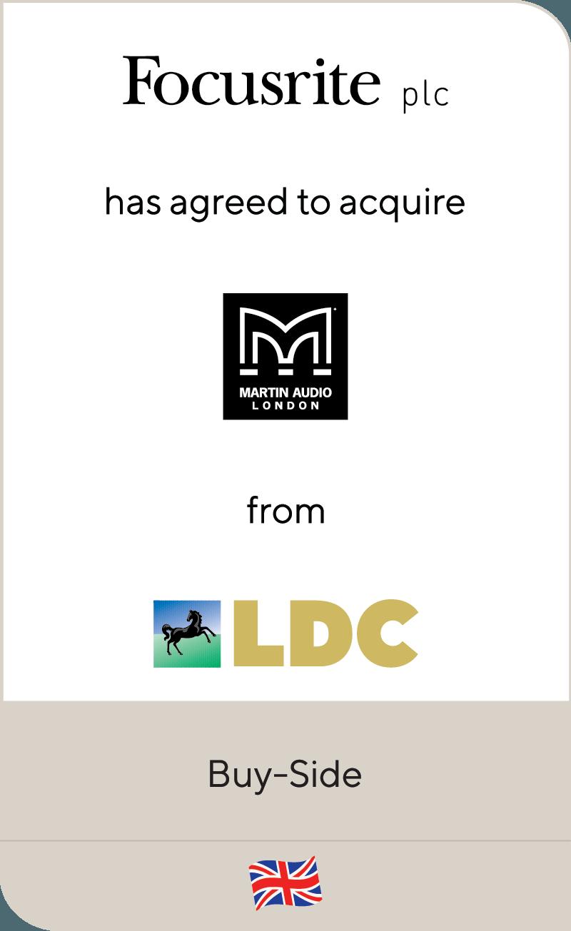 Focusrite Martin Audio LDC 2019