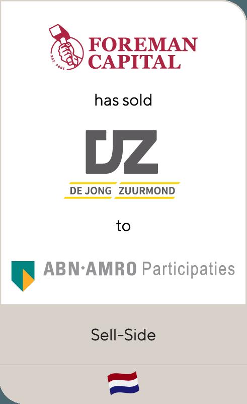 Foreman Capital De Jong Zuurmond ABN AMRO 2018