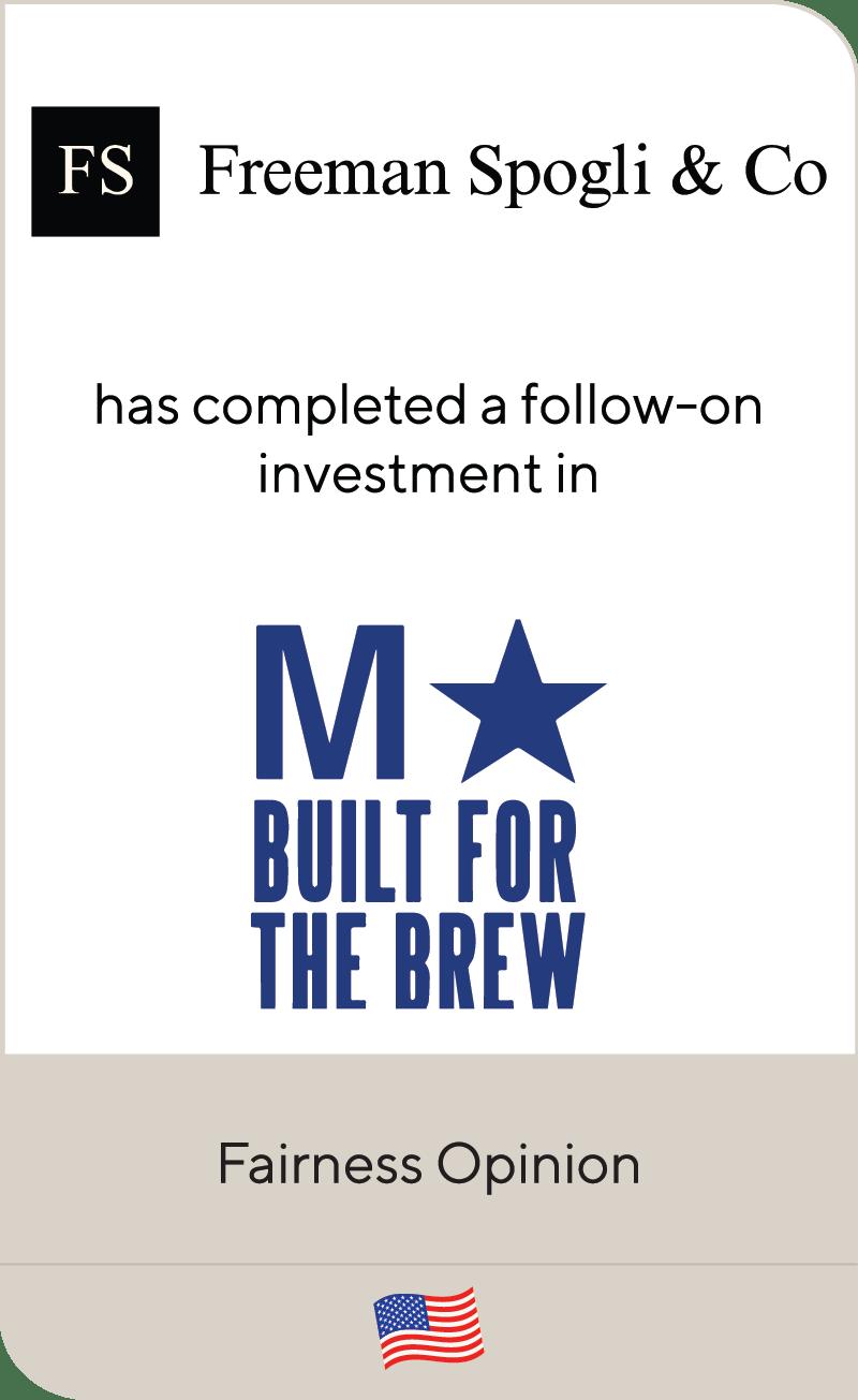 Freeman Spogli M Built For The Brew 2020