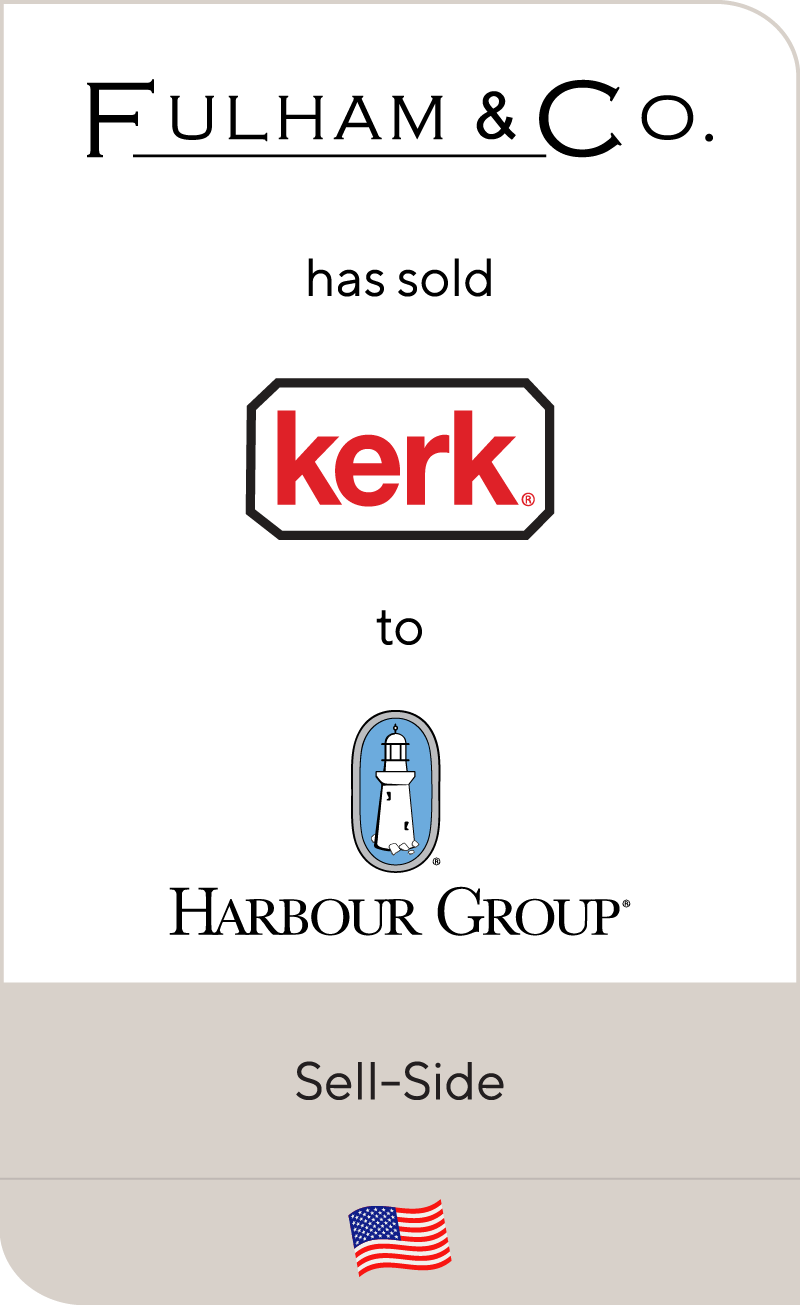 Fulham & Co. has sold Kerk to Harbour Group