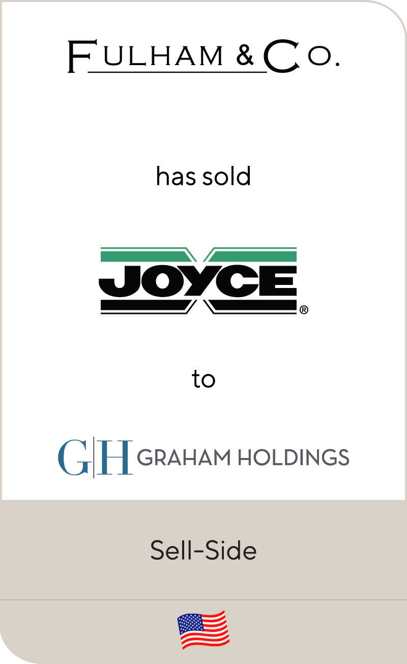 Fulham has sold Joyce to Graham Holdings