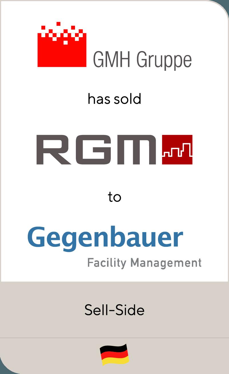GMH has sold RGM to Gegenbauer