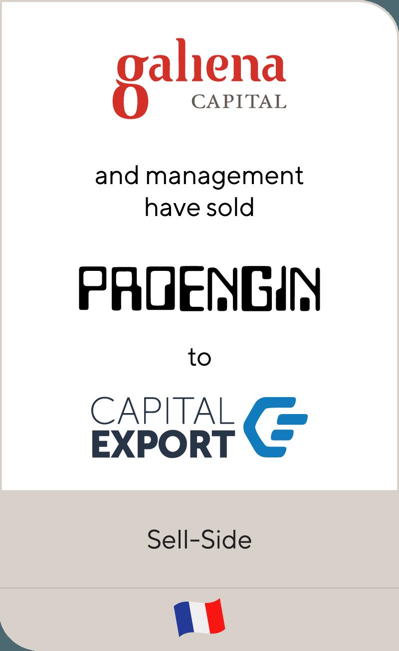 Galiena Capital Proengin Capital Export 2018
